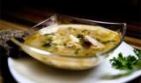 Японский суп с тунцом и овощами